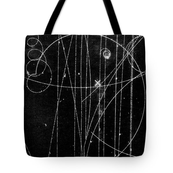 Kaon Proton Collision Tote Bag