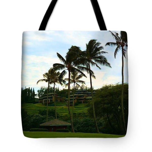 Kapalua Bay Maui Hawaii Tote Bag