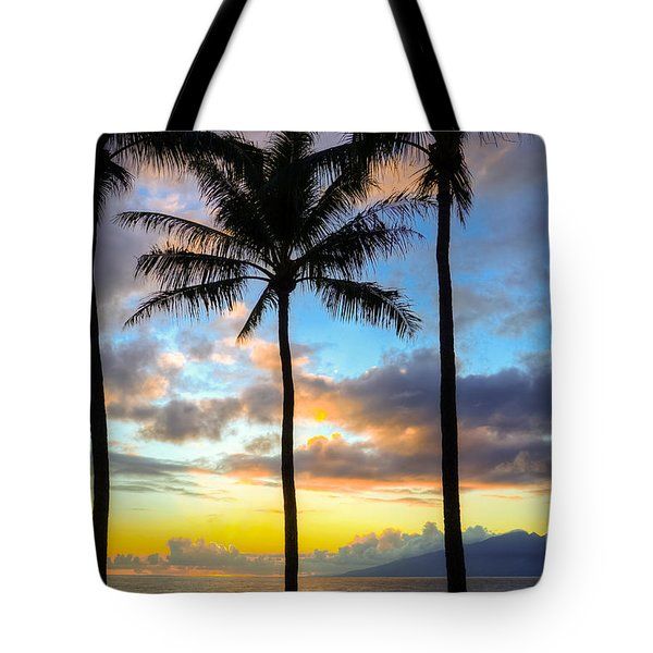 Tote Bag featuring the photograph Kapalua Dream by Kelly Wade