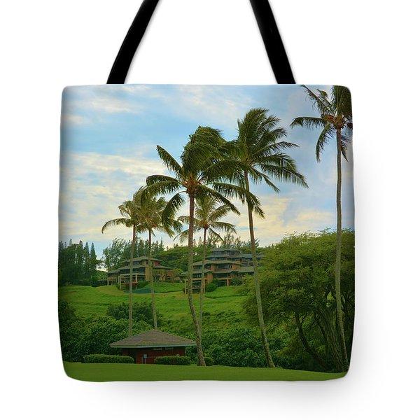 Kapalua Maui Hawaii Tote Bag