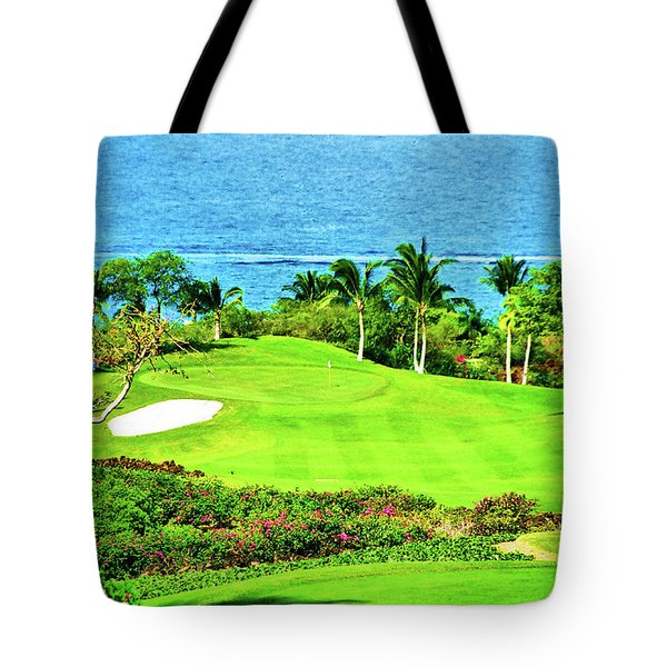 Kapalua Bay Golf Tote Bag
