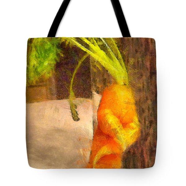 Karate Carot - Pa Tote Bag