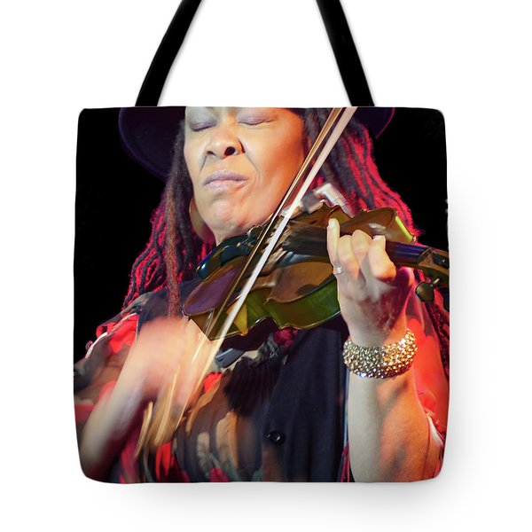 Karen Briggs 2017 Hub City Jazz Festival - In The Moment Tote Bag