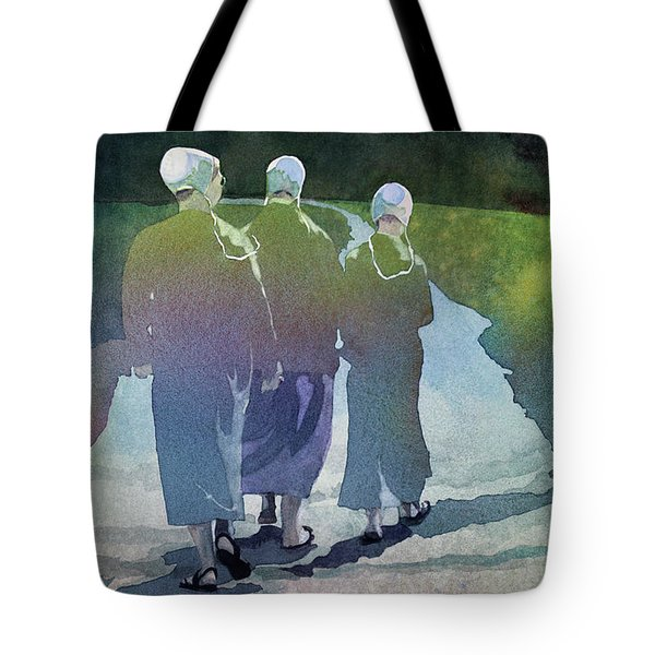 Tote Bag featuring the painting Karen's Dream by Kris Parins