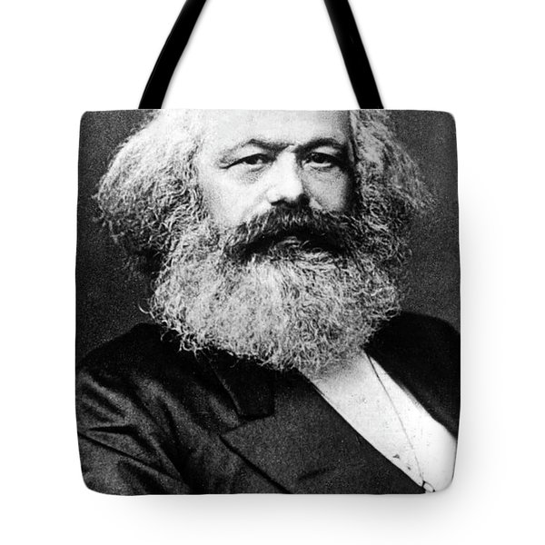 Karl Marx  German Politician Economist And Philosopher One Of The Authors Of Communist Pa Tote Bag