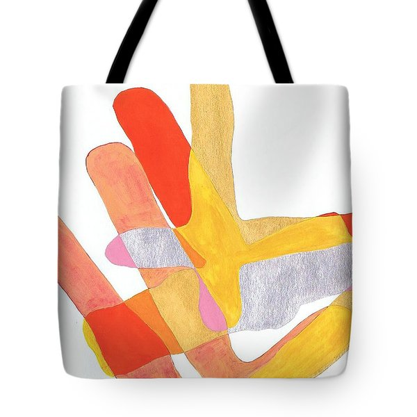 Karlheinz Stockhausen Tribute Falling Shapes Tote Bag