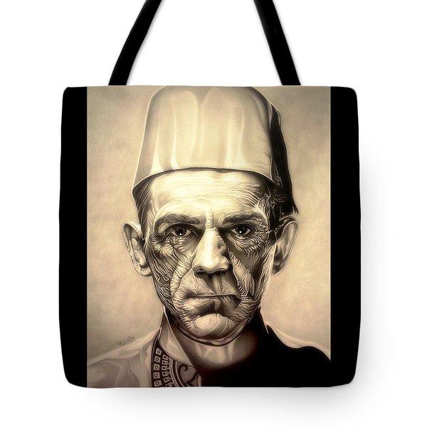 Karloff Tote Bag by Fred Larucci