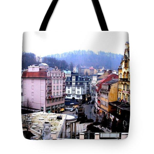 Karlovy Vary Cz Tote Bag