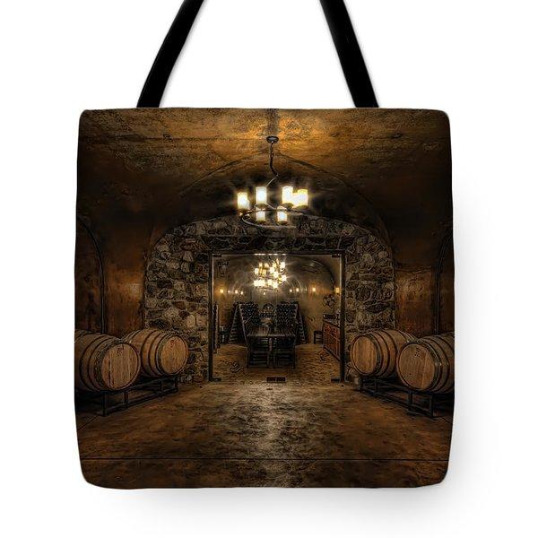 Karma Winery Cave Tote Bag