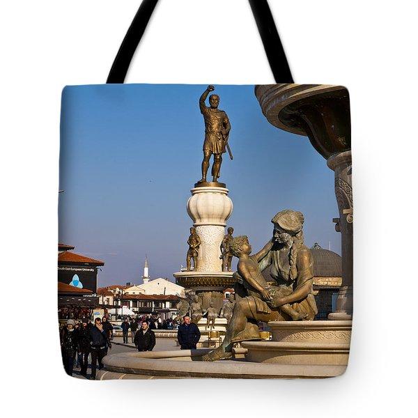 Karpos Rebellion Square Tote Bag by Rae Tucker