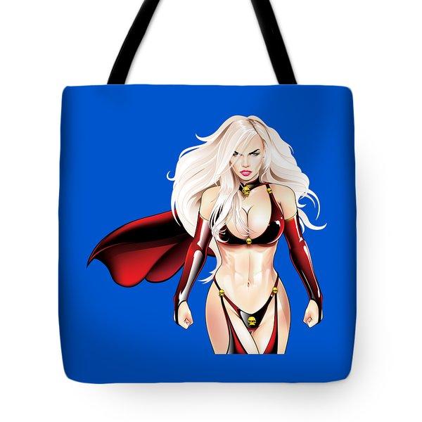 Kat Cc Tote Bag by Brian Gibbs