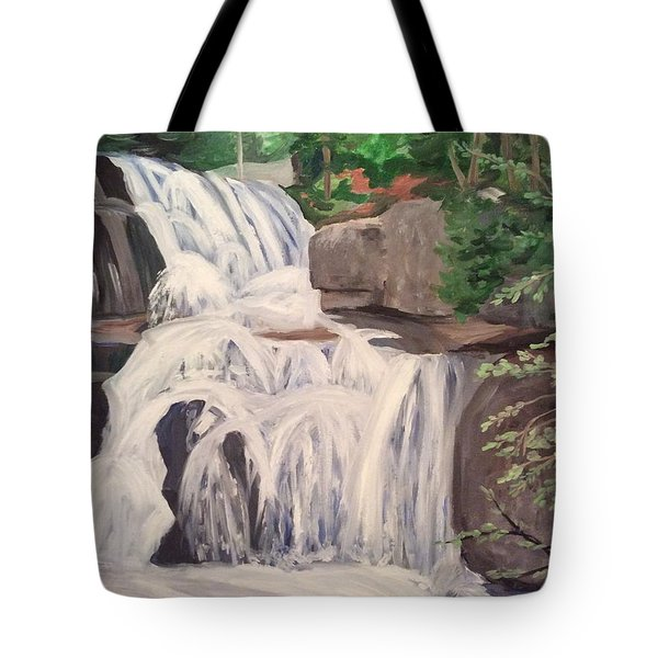 Katahdin Falls Tote Bag