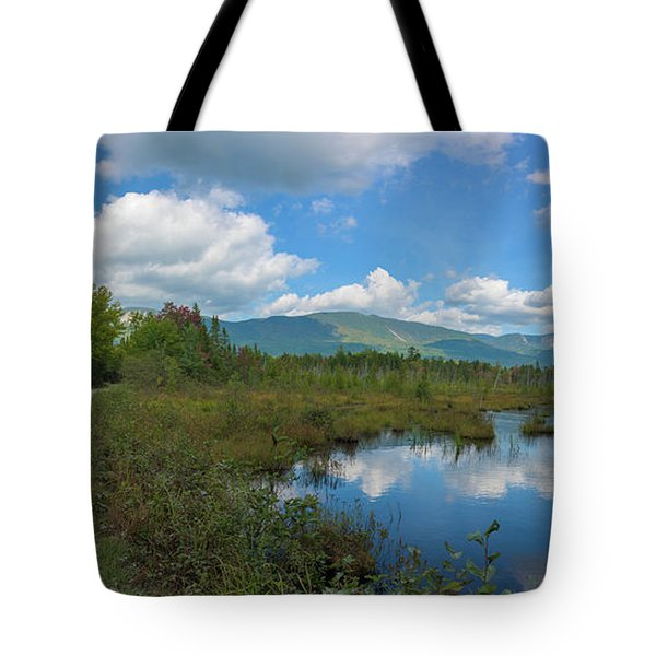 Katahdin In The Clouds Tote Bag