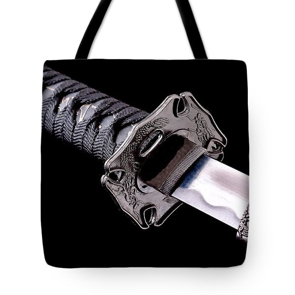 Katana Tote Bag by Gert Lavsen