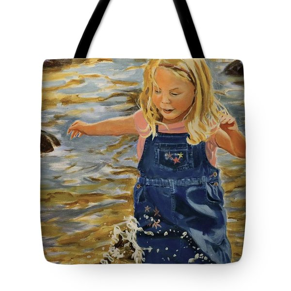 Kate Splashing Tote Bag