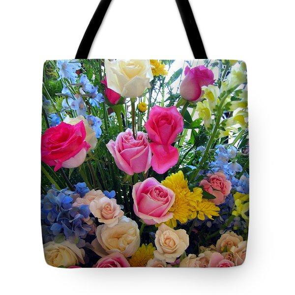 Kate's Flowers Tote Bag
