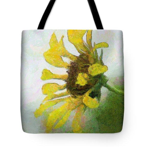 Kate's Sunflower Tote Bag by Jeff Kolker