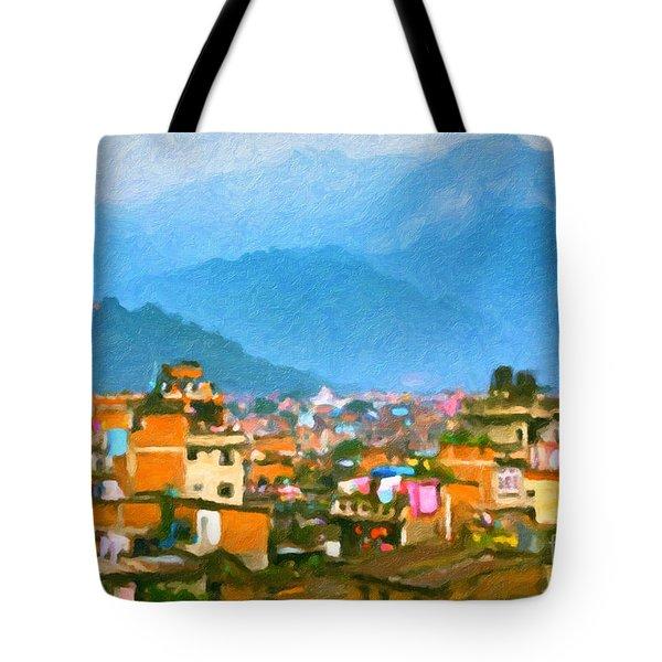 Kathmandu, Nepal Tote Bag