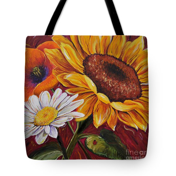 Kathrin's Flowers Tote Bag