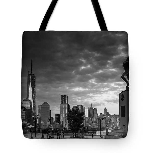 Katyn New World Trade Center In New York Tote Bag