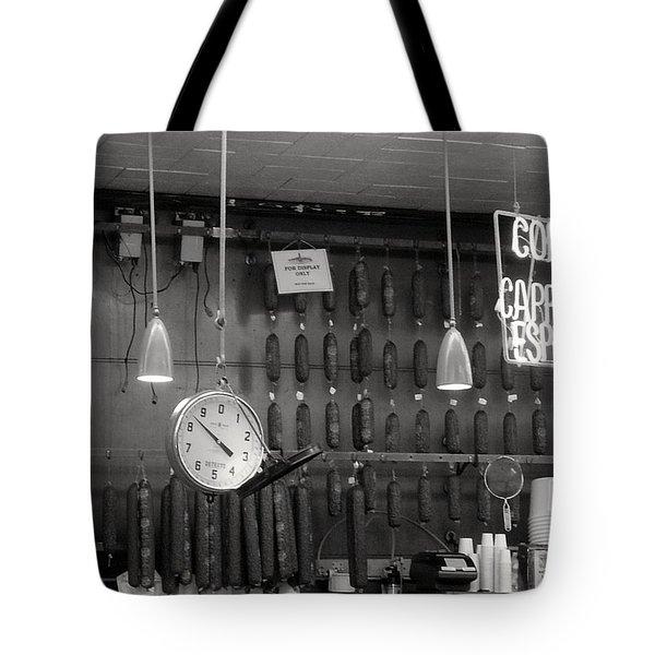 Katz Deli Tote Bag by Debbi Granruth