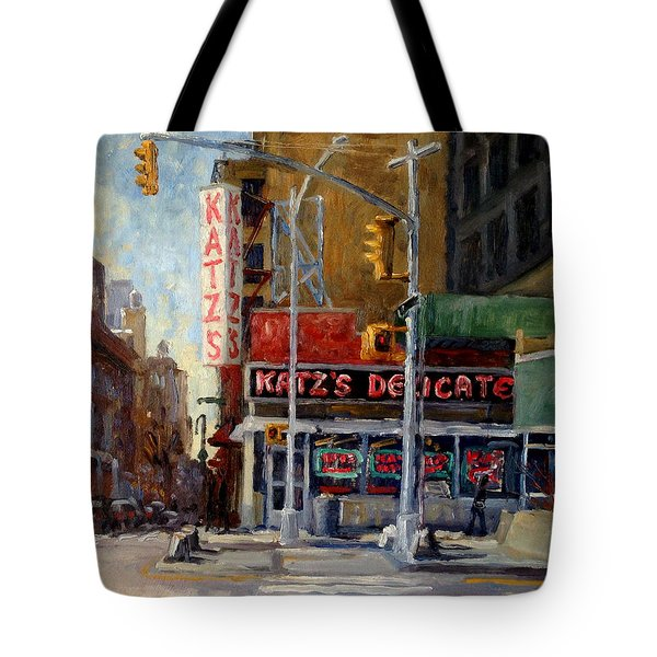 Katz's Delicatessen, New York City Tote Bag