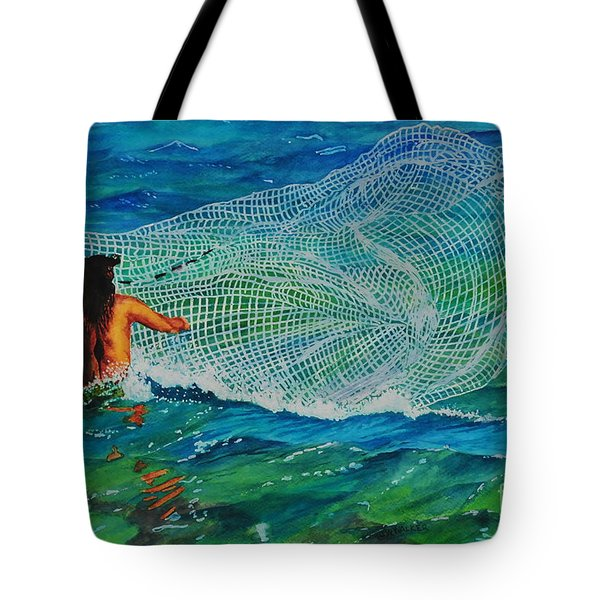 Kauai Fisherman Tote Bag