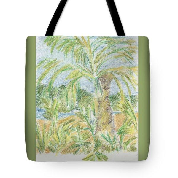 Kauai Palms Tote Bag