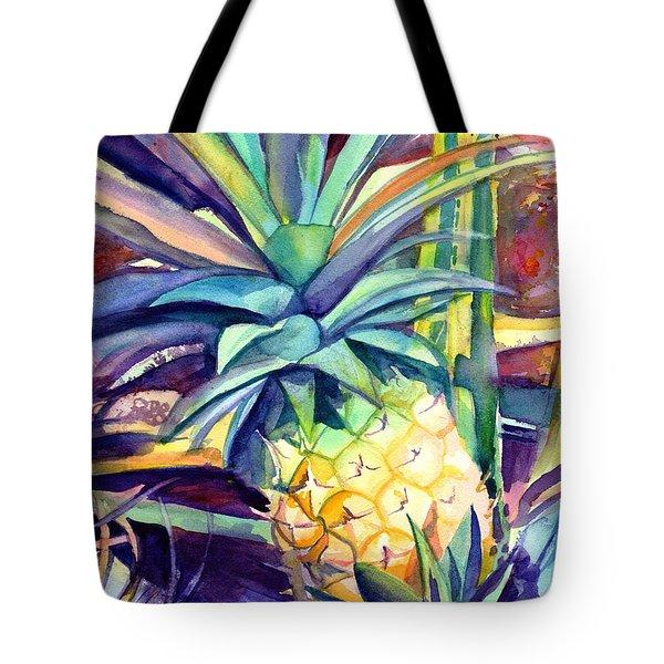 Kauai Pineapple 4 Tote Bag
