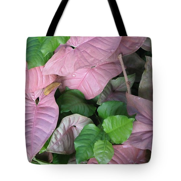 Tote Bag featuring the photograph Kauai  Pinks by Carol Sweetwood
