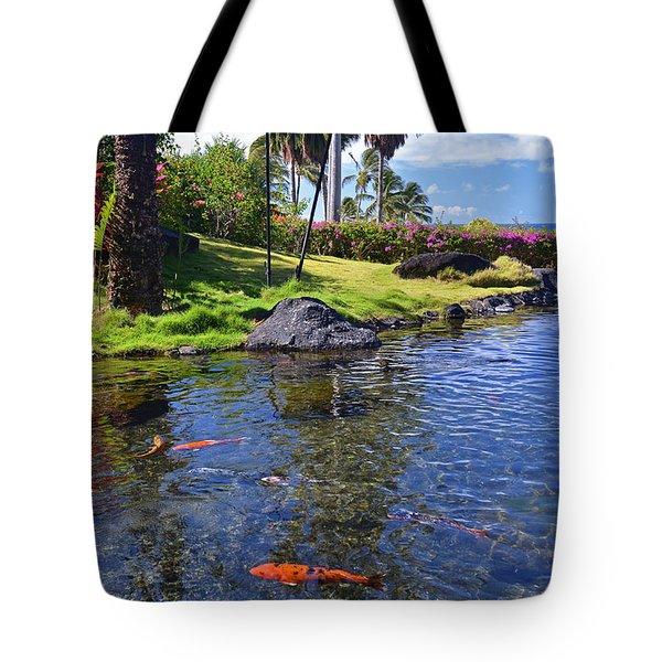 Kauai Serenity Tote Bag by Marie Hicks