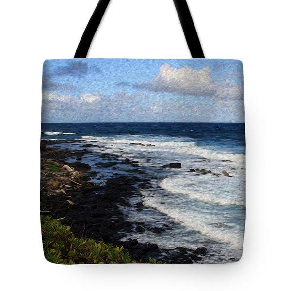 Kauai Shore 1 Tote Bag