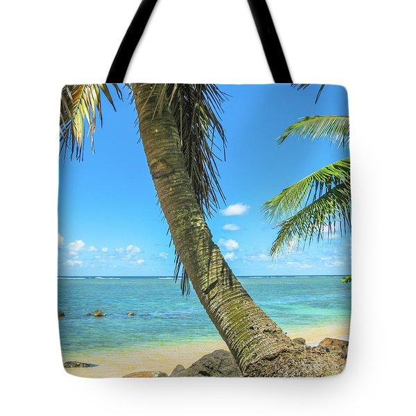 Kauai Tropical Beach Tote Bag