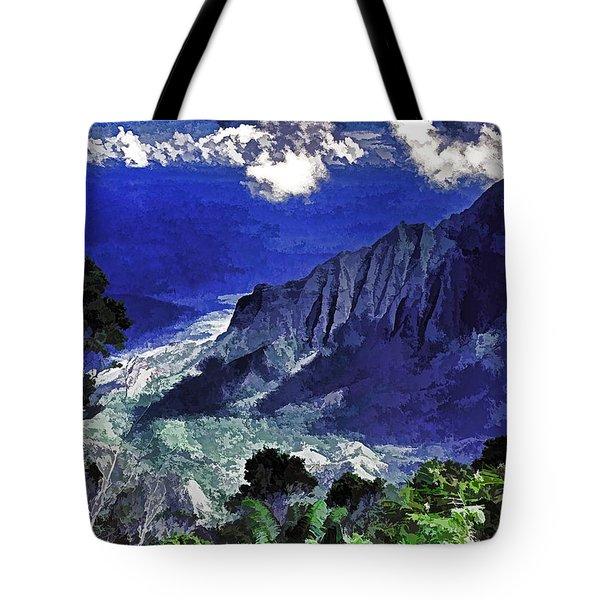 Kauai Valley Tote Bag by Dennis Cox