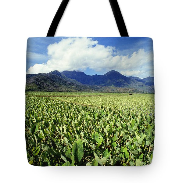 Kauai, Wet Taro Farm Tote Bag by Bob Abraham - Printscapes