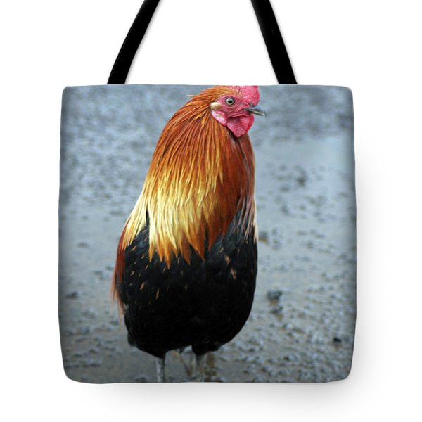 Kaui Rooster Tote Bag