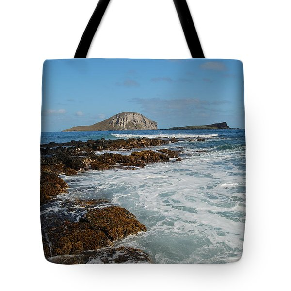 Kaupo Beach Tote Bag by Michael Peychich