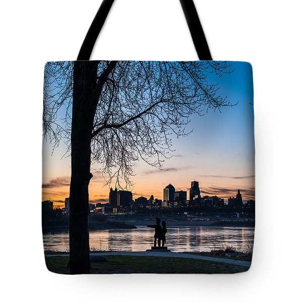 Kaw Point Park Tote Bag