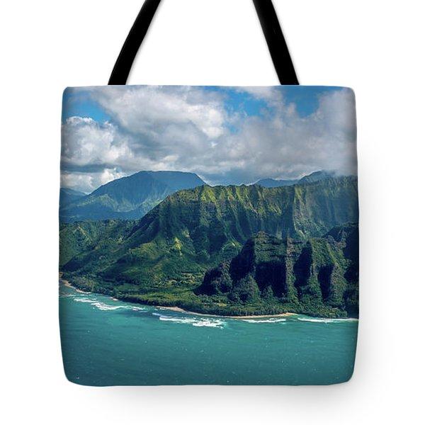 Kawaii Na Pali Coast  Tote Bag