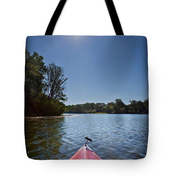 Kayak Morning Tote Bag