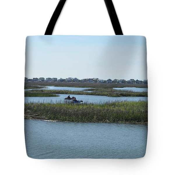 Kayakers Tote Bag