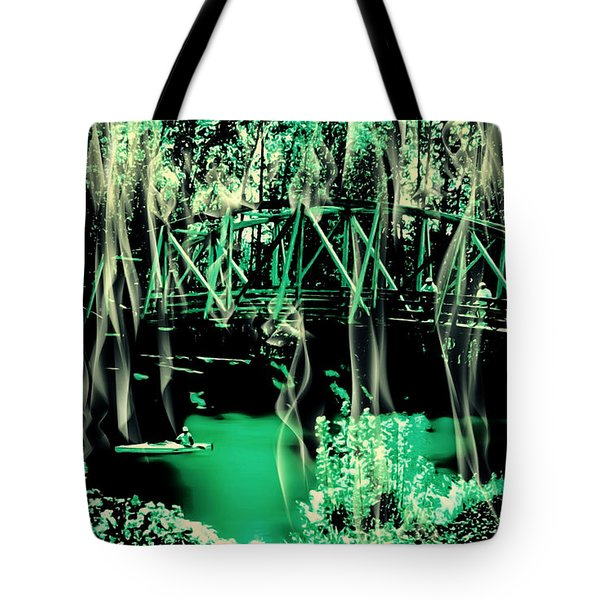 Tote Bag featuring the photograph Kayaking At Bothell Washington by Eddie Eastwood