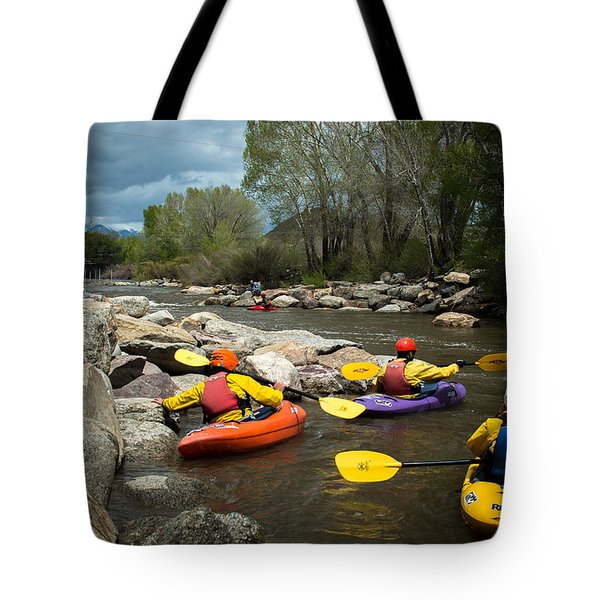 Kayaking Class Tote Bag