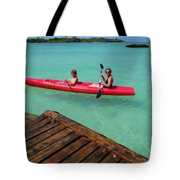 Kayaking Perfection 1 Tote Bag