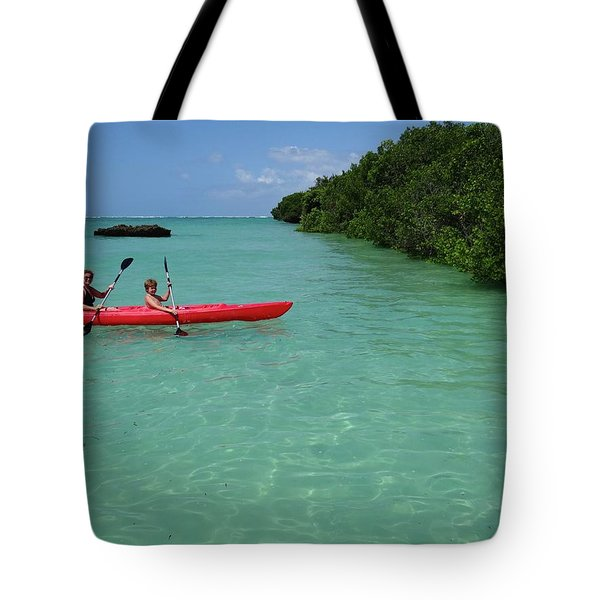 Kayaking Perfection 2 Tote Bag