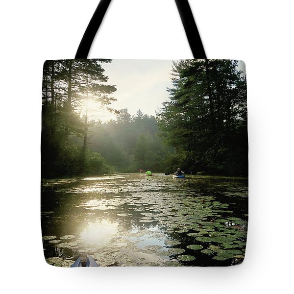 Kayaking Tote Bag
