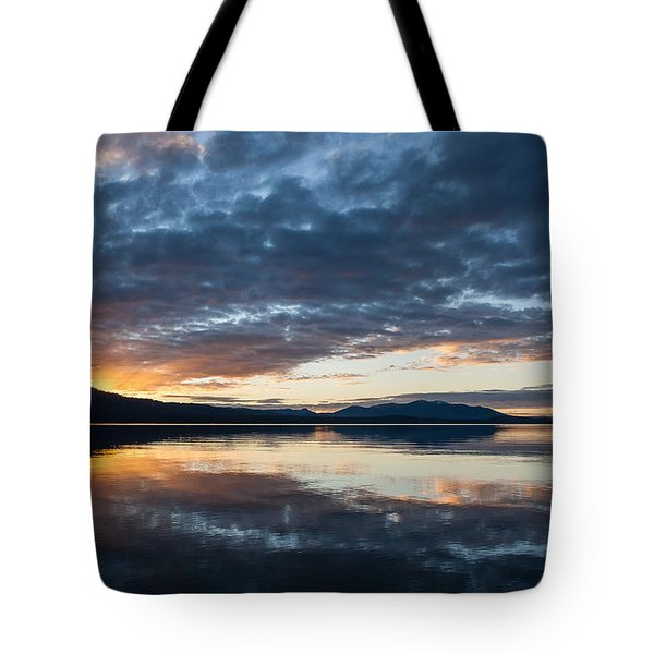 Tote Bag featuring the photograph Kayla's Sunset by Jan Davies