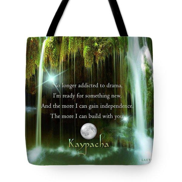 Kaypacha - November 10, 2016 Tote Bag