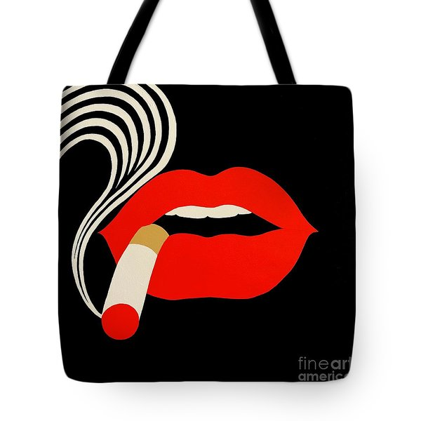 Smoking Malevich  Tote Bag