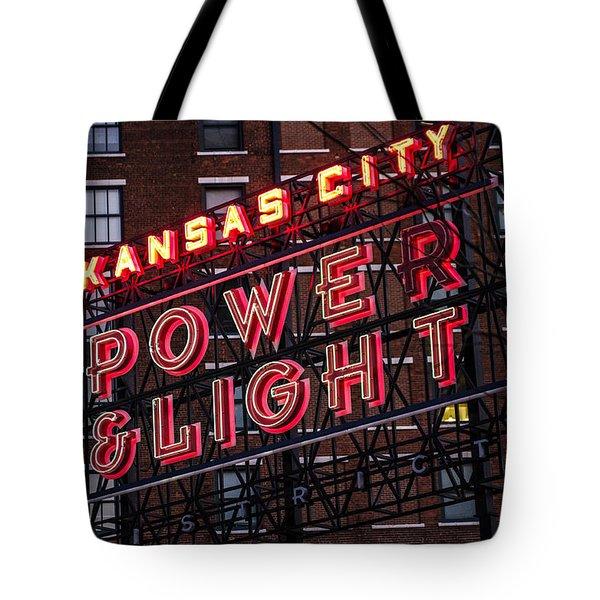Kc Power And Light Tote Bag